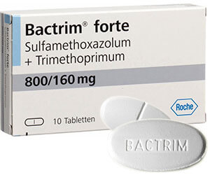 Bactrim forte 960mg Sulfamethoxazol+Trimethoprim